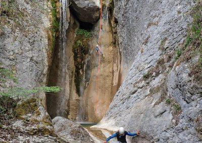 Première cascade de l'Alloix