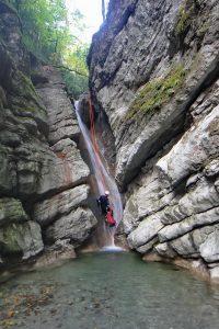 Dernière cascade encaissée d'Angon