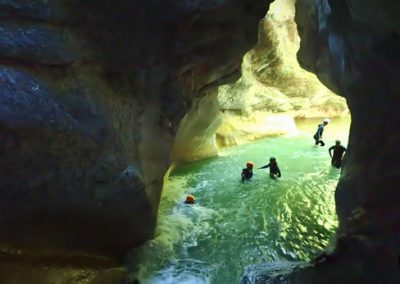 Toboggan Final du canyon de l'Infernet