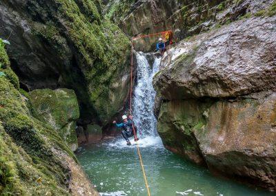 canyoning EVJF EVG Vercors loisir