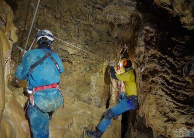 vire spéléologie grotte eymards vercors Grenoble