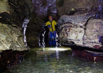 Rivière souterraine spéléologie cuves Sassenage Grenoble