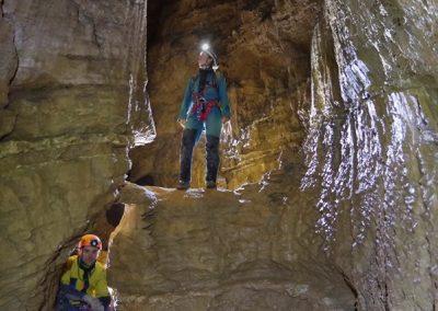 galerie spéléologie grotte eymards vercors Grenoble