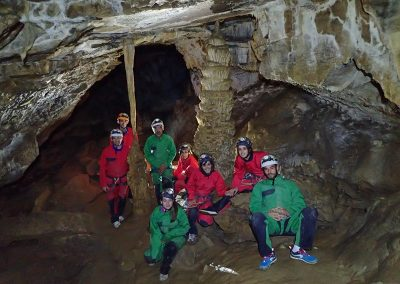 Spéléologie grotte doriaz chambery bauges